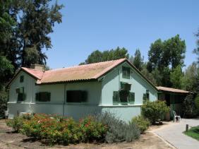 ben-gurion-house-at-sde-boker-kibbutz-negev-desert